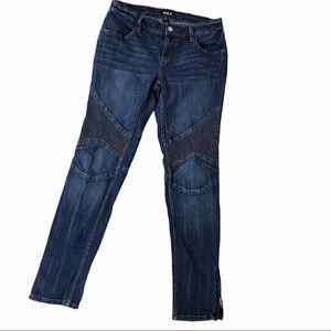 Allen B Moto Skinny Jeans Size 10
